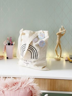 Bolso Tote Bag Sweet con pines